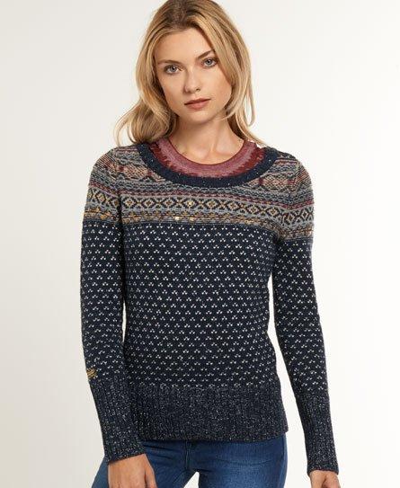Superdry Embellished Peak Knit