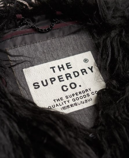 Superdry Gilet in pelliccia sintetica Boho Ombre