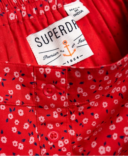 Superdry Jupe à bouton 90's Maritime