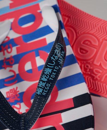 Superdry Eva Stripe flip-flop-sandaler