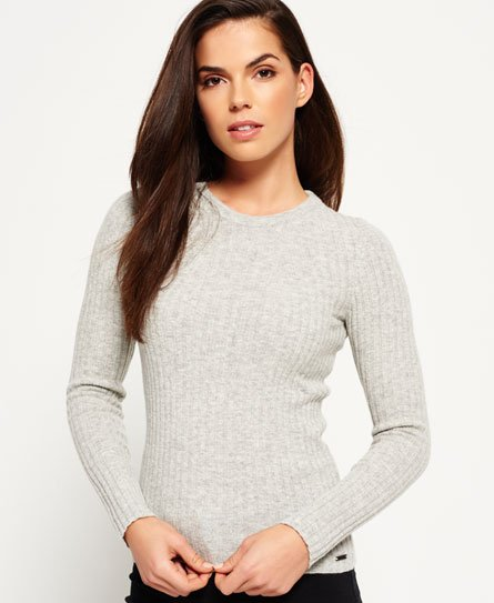 Superdry Luxe Ribbed Knit Jumper