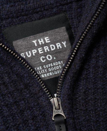 Superdry Harlo Textured Henley Jumper