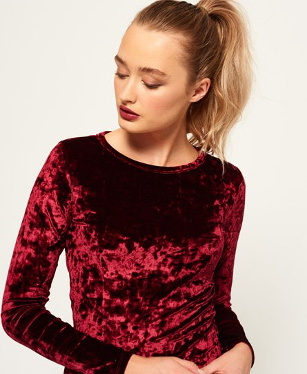 Superdry Lily Velvet Bodycon-kjole