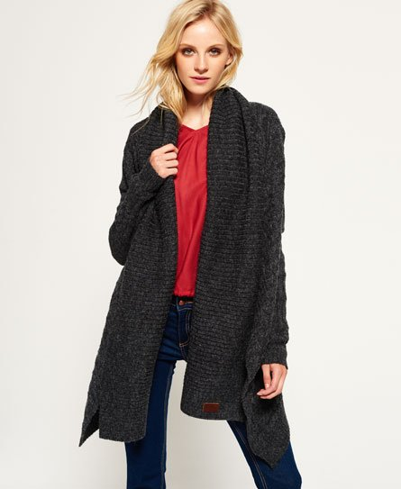 Superdry Haden Cable Waterfall Cardigan