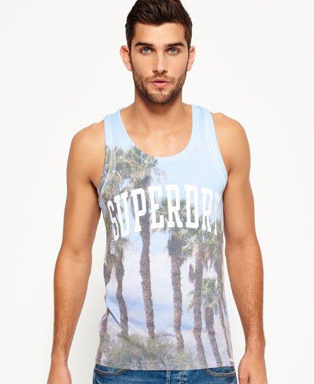 Superdry Santa Monica Photo Print Vest Top