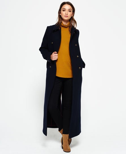 Superdry Super Long Bridge Coat