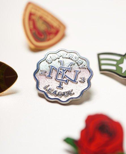 Superdry Lot de badges style pin's