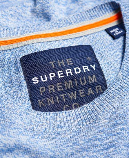 Superdry Pull à encolure ronde Orange Label