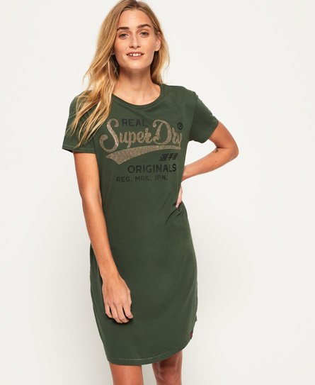 Superdry Slim Line T-Shirt Dress