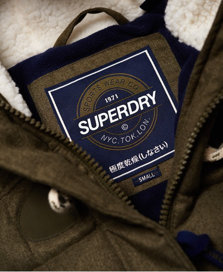 Superdry Marl Toggle Puffle -takki