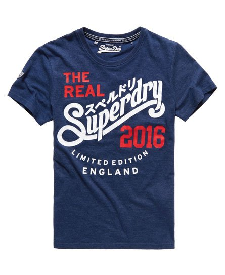 Superdry T-shirt Euro Real Angleterre
