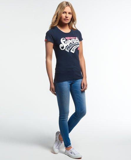 Brand Superdry Shirt Premium Femme New Pour T xzUzqOa