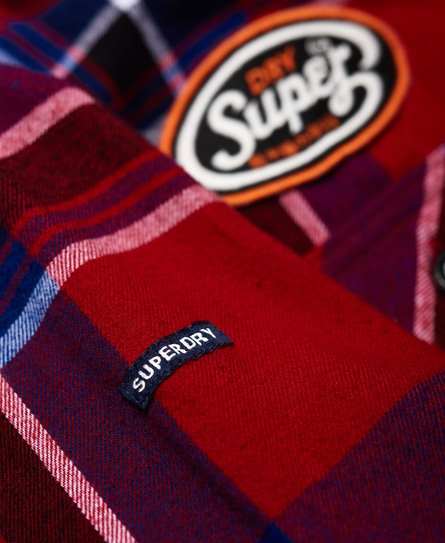 Superdry Lumberjack Patched Shirt