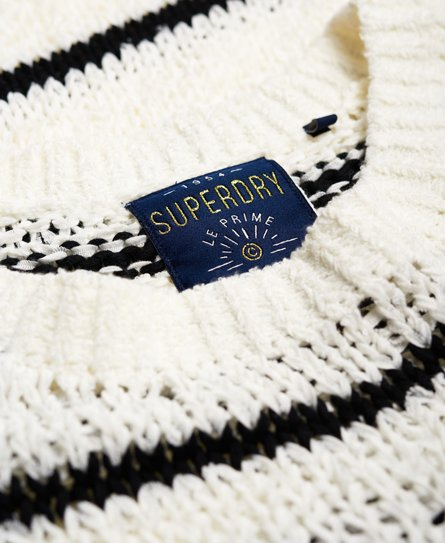 Superdry Pull en maille texturisée