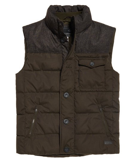 Superdry Tech Tweed Gilet