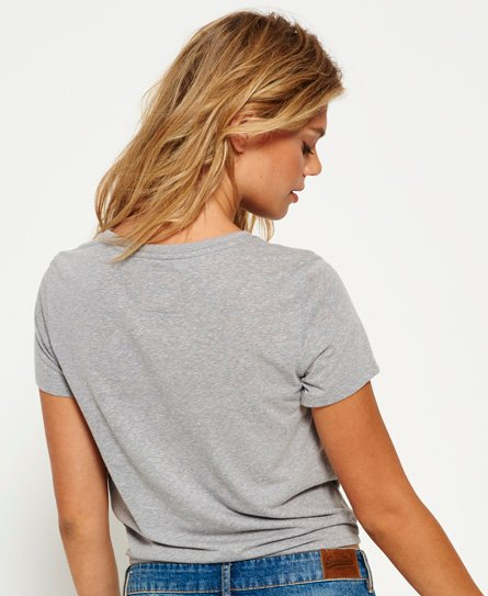 Superdry Made Authentic T-shirt med knude