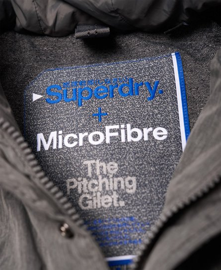 Superdry Microfibre Pitching Gilet
