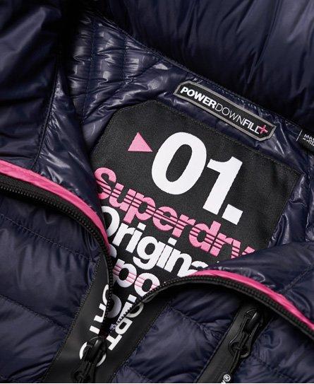 Superdry Sport Power Down Hooded Jacket