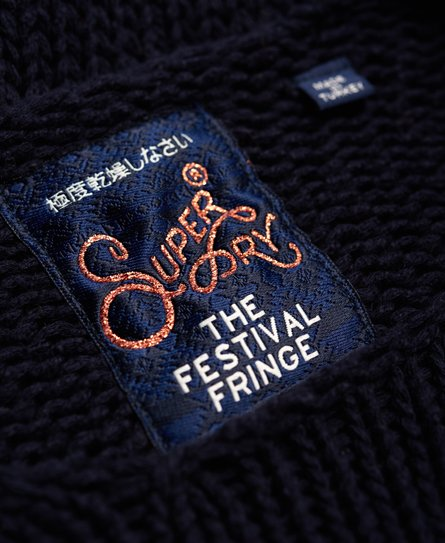 Superdry Pull en maille Pia Varsity