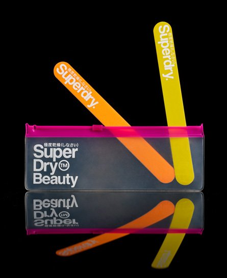 Superdry Nail File Duo