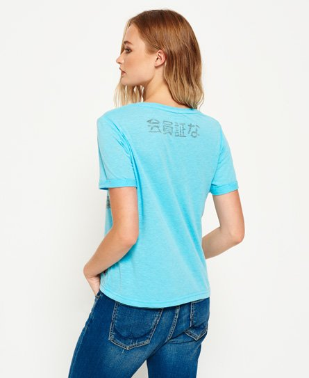 Superdry Kastenförmiges Osaka 6 Fluro T-Shirt