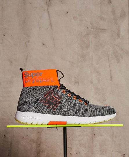 Superdry Super Knit Runner Hi Trainers