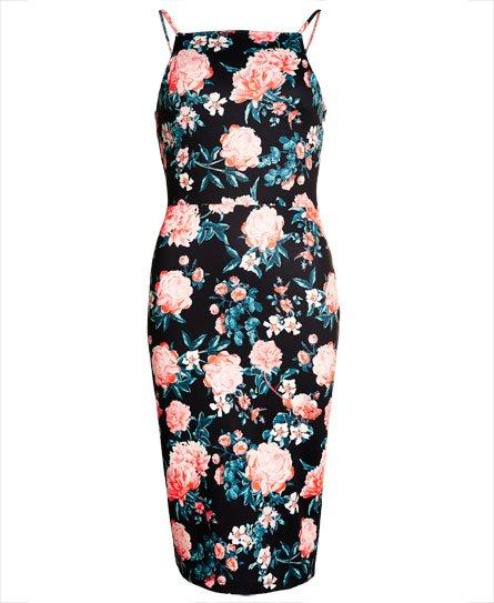 Superdry Sultry Scuba Pencil kjole