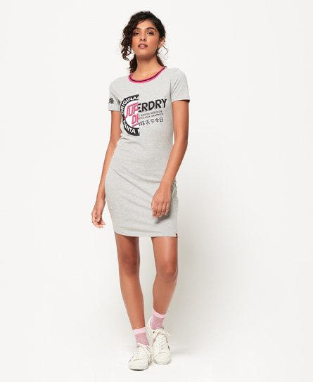 Superdry Cruise Bodycon T-shirtjurk
