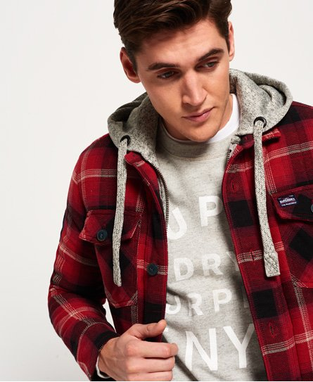 Superdry Everest Storm skjorte - Herrer Skjorter