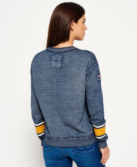 Superdry Relaxt Tri League sweatshirt met ronde hals