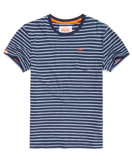 Superdry Rustic Stripe Pocket T-shirt