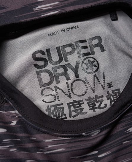 Superdry Carbon Baselayer Crew Top