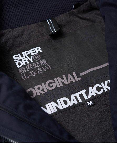 Superdry Giubbotto con cappuccio in microfibra SD-Windattacker