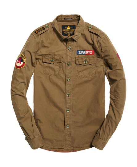 Superdry Ultra Light Army Corps Shirt
