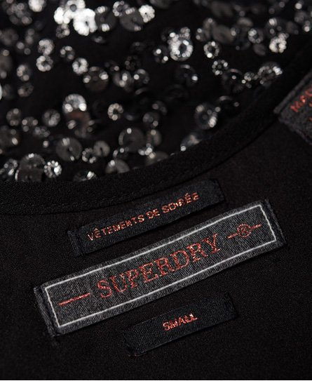 Superdry Robe nuisette à sequins Hallie