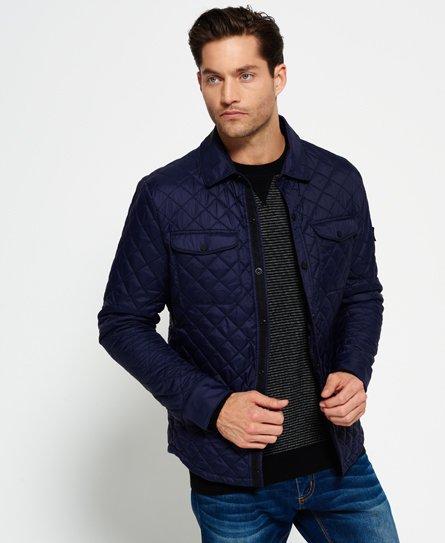 Superdry Fuji Diamond Quilt Shirt Jacket