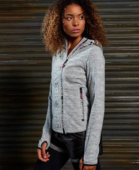 Superdry Sport Swerve Zip Fleece