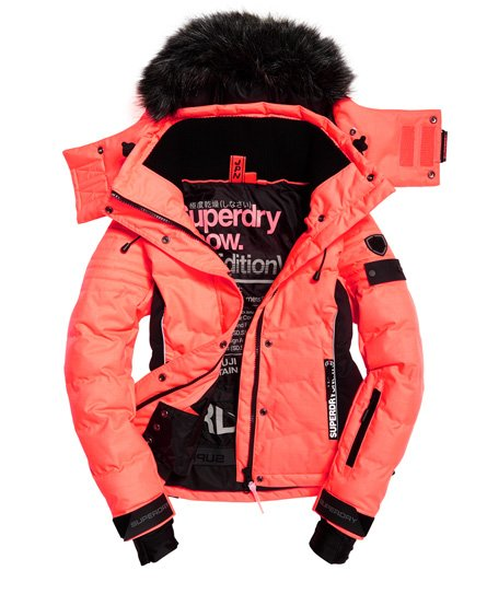 Snow Snow Superdry Puffer Jacket Superdry Womens erCxBod