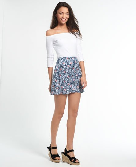 Superdry Button Through Rydell Skirt