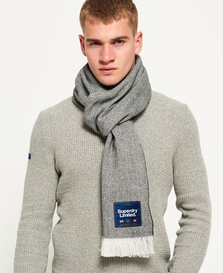 Capital Textured tørklæde med frynser