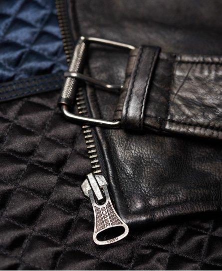 Superdry SD Endurance Custom Leather Jacket