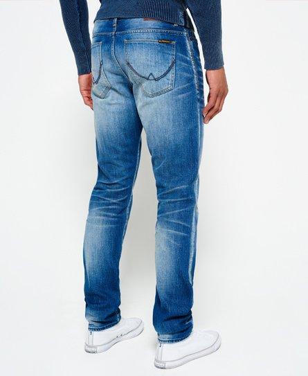 Superdry Taps toelopende Biker jeans