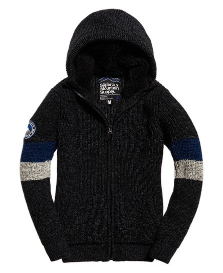 Superdry  Sweat à capuche zippé Henley Downhill