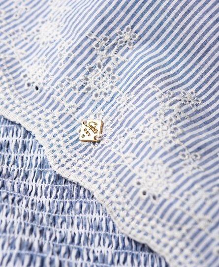 Superdry Alice Kleid mit Zierknoten