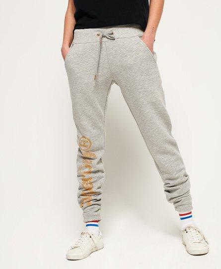 Superdry Pantalon de survêtement SD Skater scintillant