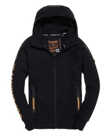 Superdry Felpa con cappuccio e zip Gym Tech Gold Award
