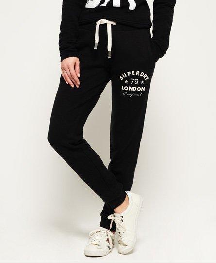 Superdry Pantalon de survêtement slim Applique