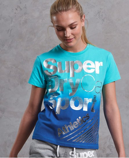 Superdry T-shirt Sport Racer Acid