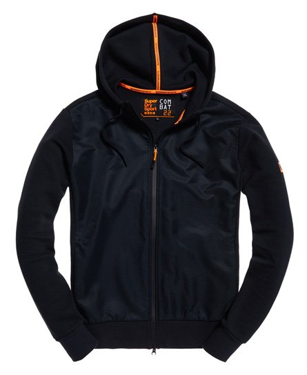 Superdry Sweat à capuche zippé Combat