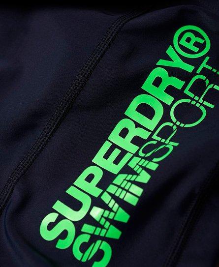 Superdry Sport Swim Stretch Midi Trunks